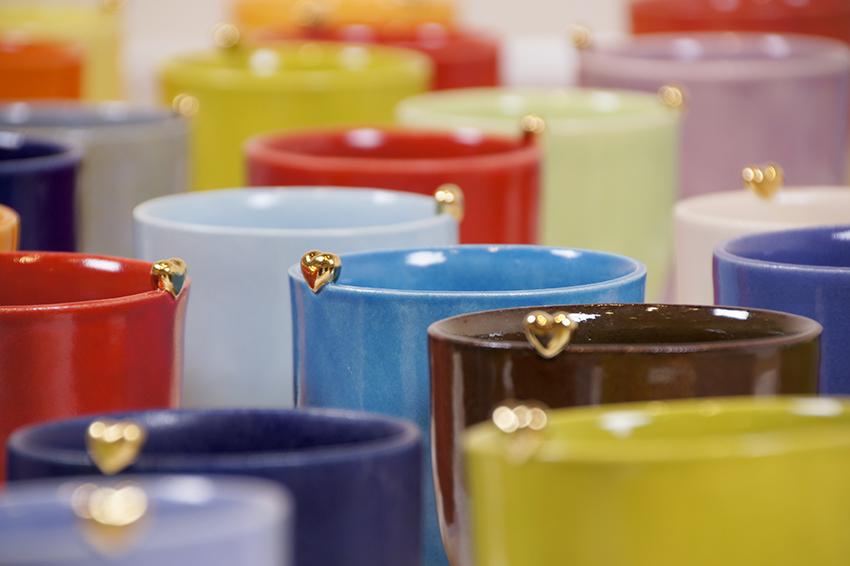 Koppene kommer i mange farger.
